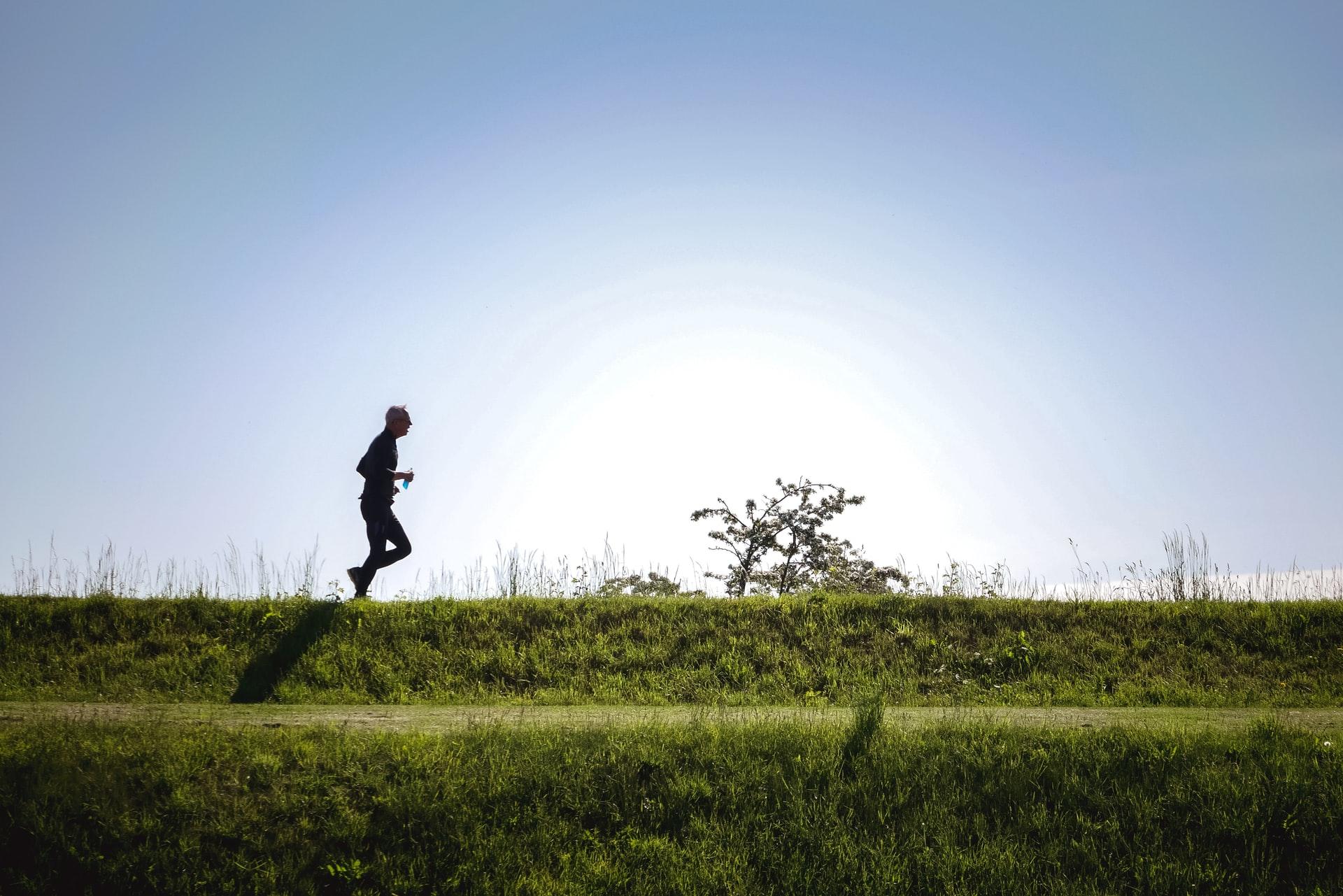 Løber ved Kastellet, nabo til vores kontorlokaler